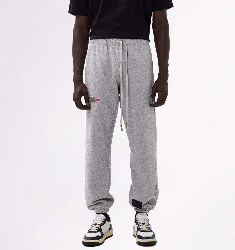 AUTRY FLEECE PANTS WITH EMBROIDERY LOGO