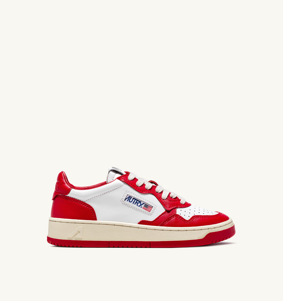 WHITE / RED / DOUBLE COLOR