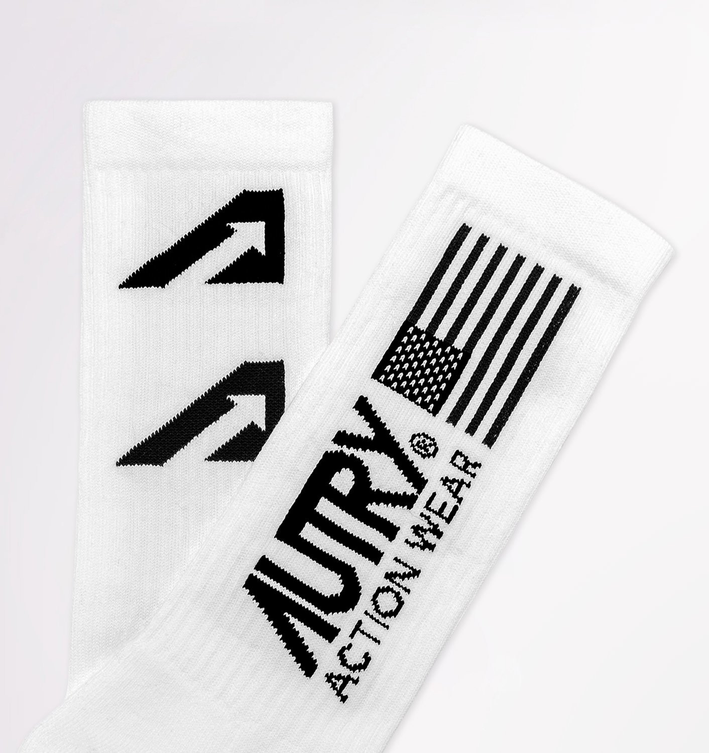 AUTRY: GOLD CLUB SOCKS IN COTTON